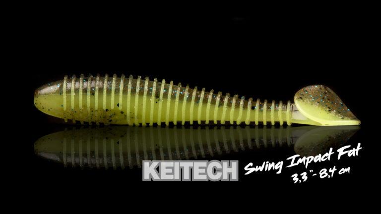 Keitech Swing Impact Fat 3.3 Détail 1