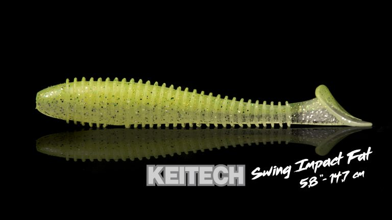 Keitech Swing Impact Fat 5.8 Détail 1