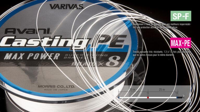 Varivas Avani Casting PE Max Power Tech