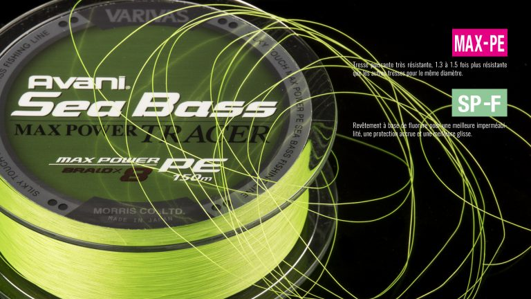 Varivas Avani Sea Bass Max Power Tracer Tech