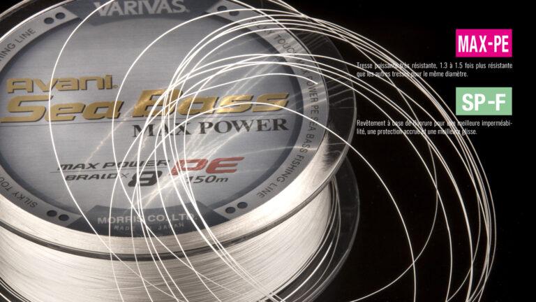 Varivas Avani Seabass Max power PE x8 Tech