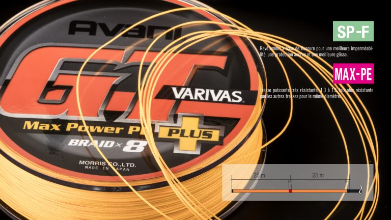 Varivas Avani Tresse GT Max Power + Tech