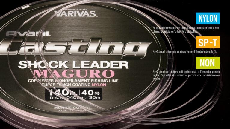 Varivas Casting Shock Leader Maguro tech