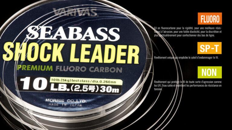 Varivas Seabass Shock Leader Fluoro Carbon Tech