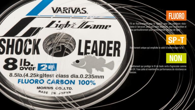 Varivas Shock Leader Light Game Fluoro Carbon Tech
