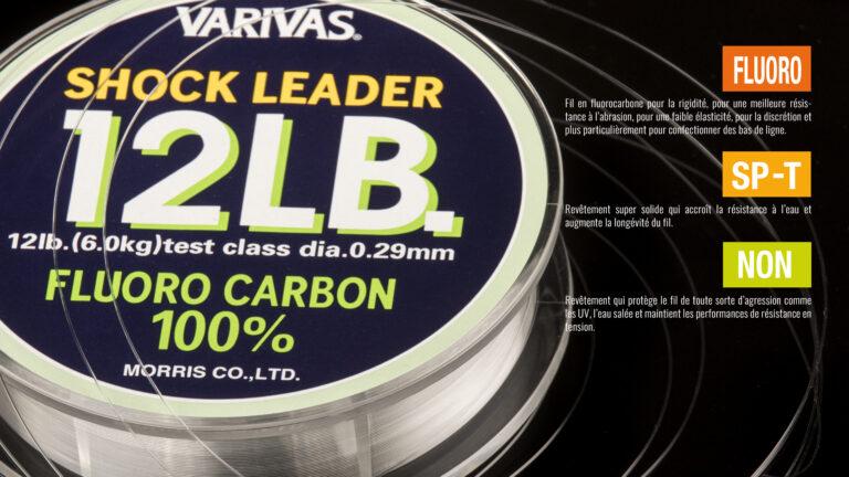 Varivas Shock leader Fluoro Carbon 100% Tech