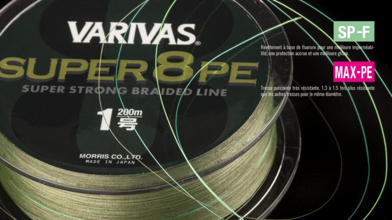 Varivas Siper 8 PE Tech