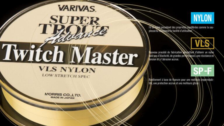 Varivas Super Trout Advance Twitch master Tech