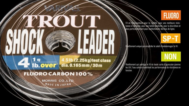 Varivas Trout Shock Leader FluoroCarbon Tech