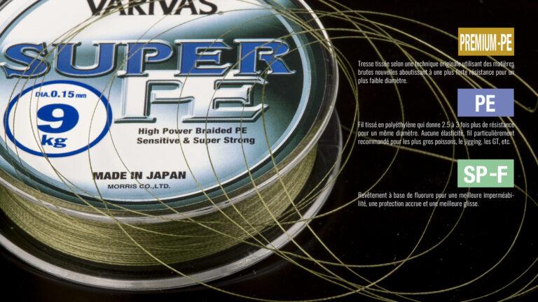 Varivas Super PE + tech
