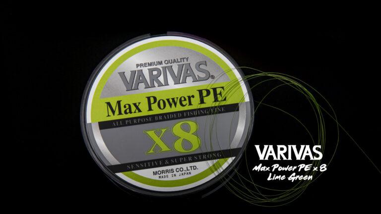 Nouvelle tresse Varivas Max Power PE 8 brins : la qualité japonaise à un prix abordable !