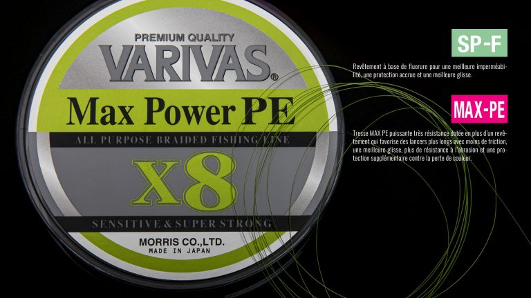 Max Power PE X8 Lime Green