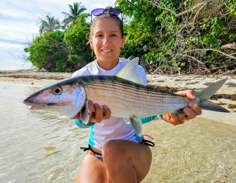 Pêche exotique légère sur les flats de Guadeloupe