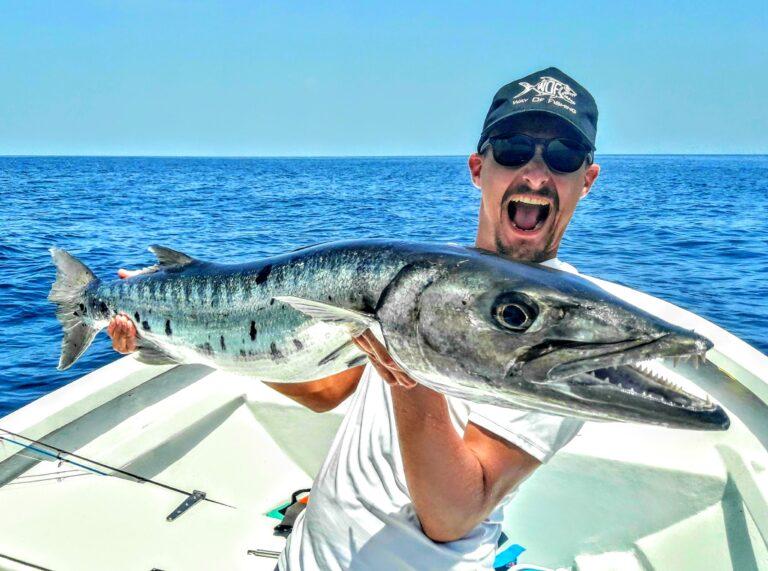 Pêche du Barracuda aux leurres durs.